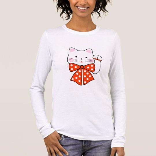 Happiness cat long sleeve T-Shirt