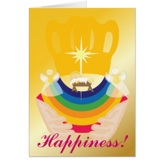Happiness Christmas-Customize Card