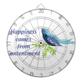 Happiness Comes From Dartboard