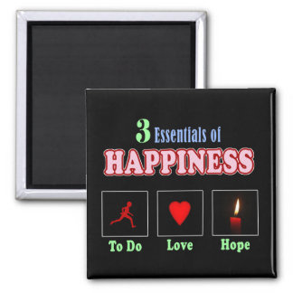 Happiness comes from within magnets
