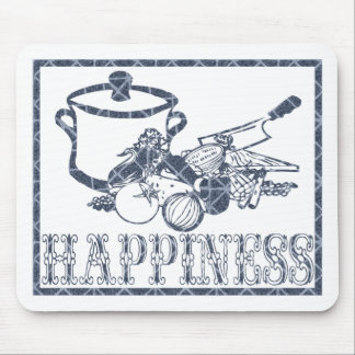 Happiness: Cooking Mouse Pad