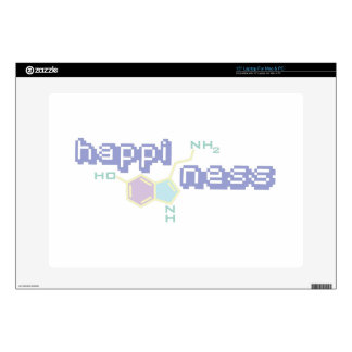 """Happiness Decal For 15"""" Laptop"""