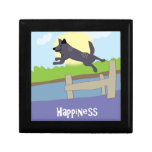 Happiness Dog - Paw of Attraction Trinket Box