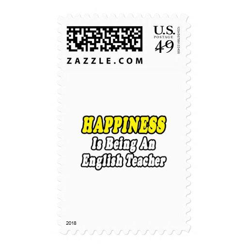 Happiness...English Teacher Postage