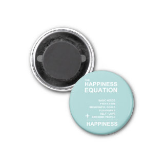 Happiness Equation Magnet