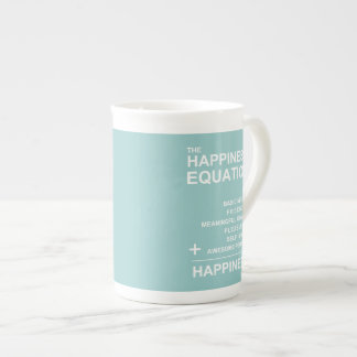 Happiness Equation Tea Cup