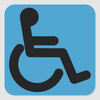 Happiness Factory  Handicap Accessible Sticker