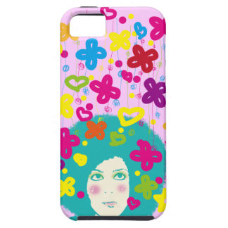 Happiness falls from the sky iPhone SE/5/5s case