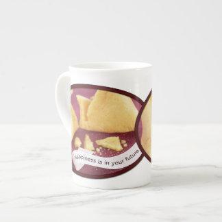 Happiness Fortune Cookie Bone China Mug