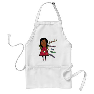 Happiness grows in your heart adult apron