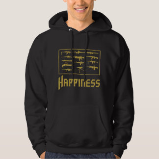 Happiness:Guns Hoodie