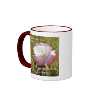 Happiness Held is the Seed Coffee Mugs