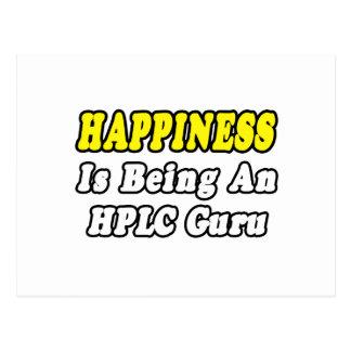 Happiness...HPLC Guru Postcards