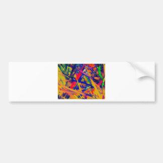 Happiness In color Bumper Sticker