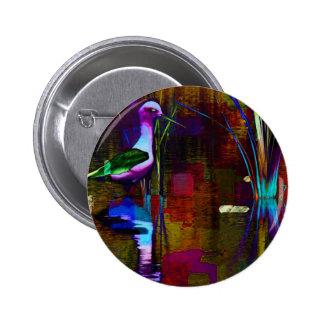 Happiness In Color Pinback Button