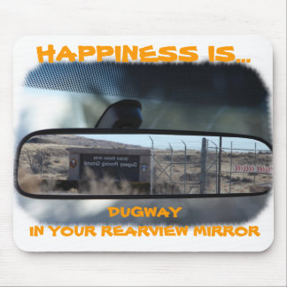 Happiness in Dugway Mouse Pad
