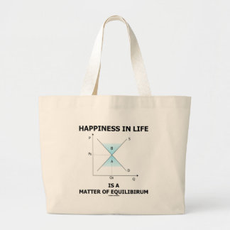 Happiness In Life Is A Matter Of Equilibrium Bags