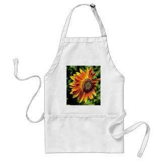 """Happiness in Orange""  Sunflower Adult Apron"