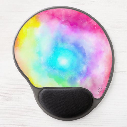 Happiness in the clouds created by Ruxandra Carter Gel Mouse Pad
