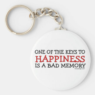 Happiness is a Bad Memory Keychain