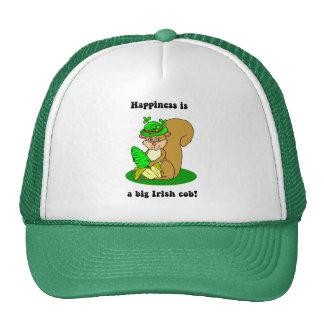 happiness is a big irish cob trucker hat