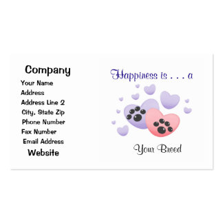 Happiness is a [Breed] Business Card
