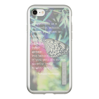 Happiness is a Butterfly - Inspiring Quote Incipio DualPro Shine iPhone 8/7 Case