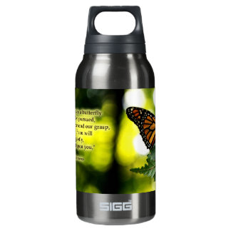 Happiness Is a Butteryfly Insulated Water Bottle