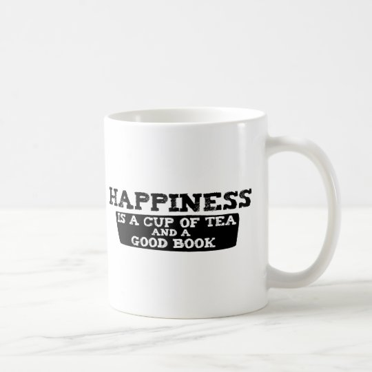 Happiness is a Cup of Tea and a Good Book