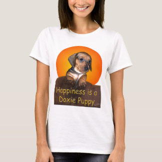 Happiness is a Dachshund Puppy T-Shirt