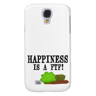 Happiness is a FTF! Samsung Galaxy S4 Covers