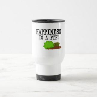 Happiness is a FTF! Travel Mug