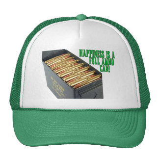 Happiness is a Full Ammo Can Trucker Hats