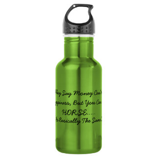 Happiness is a Horse 18oz Water Bottle