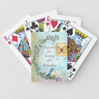 Happiness is a Journey Bicycle Playing Cards