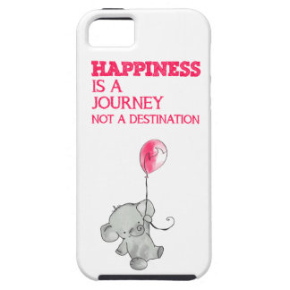 Happiness is a journey iPhone 5 cover