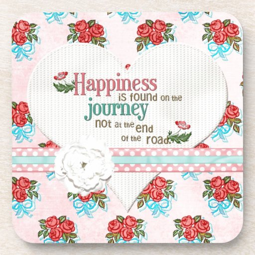 Happiness is a Journey Coasters