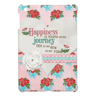 Happiness is a Journey iPad Mini Cover
