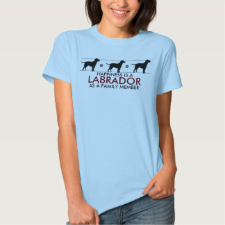 """""""Happiness Is A Lab"""" Tees"""