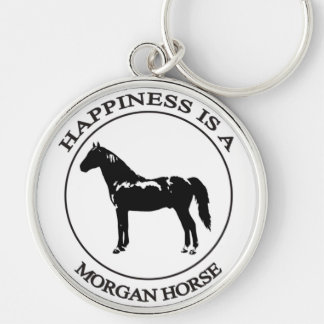 Happiness is a Morgan Horse Keychain