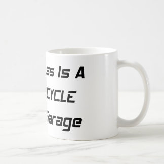 Happiness Is A Motorcycle In The Garage Coffee Mug