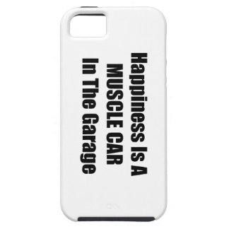 Happiness Is A Muscle Car In The Garage iPhone SE/5/5s Case