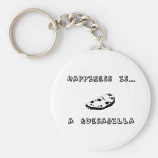 Happiness is a Quesadilla Keychain
