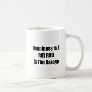 Happiness Is A Rat Rod In The Garage Coffee Mug