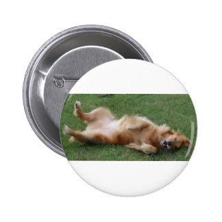 Happiness is a Roll in the Clover 2 Inch Round Button
