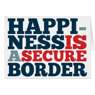 Happiness is a Secure Border Card