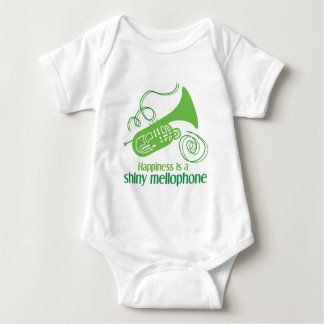 Happiness is a Shiny Mellophone Baby Bodysuit