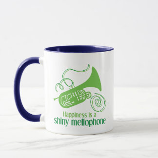 Happiness is a Shiny Mellophone Mug