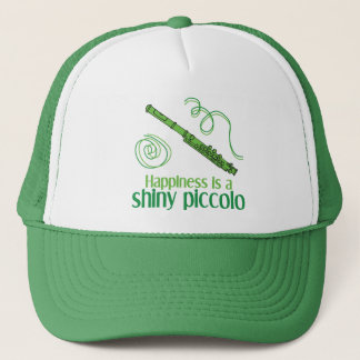 Happiness is a Shiny Piccolo Trucker Hat