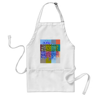 Happiness is a State of Mind - Enjoy Happiness Adult Apron